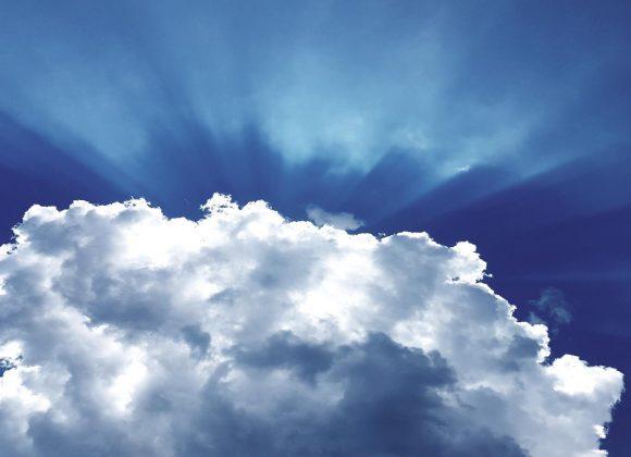 le ciel a envahi la terre le jour de la Pentecôte.