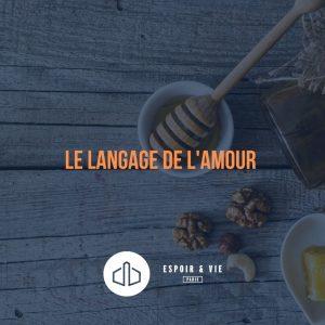 Le langage de l'amour